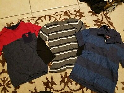 Lot Of 3 Boys Shirts Garanimals Us Polo Assn. Cat & Jack EUC 5