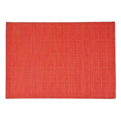APS PVC Placemat Fine Band Red (Set of 6) [GL612]