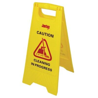 Jantex Cleaning in Progress Safety Sign [L433]