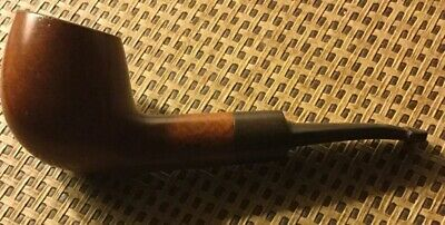 """Big Boy Estate Smoking Pipe """"W"""" And """"9"""" On Bowl-Large Sized Italy"""