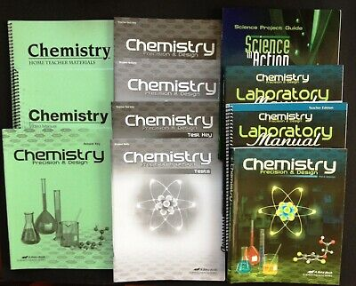 Abeka Chemistry 11th grade 3rd Edition Set (current) CLEAN