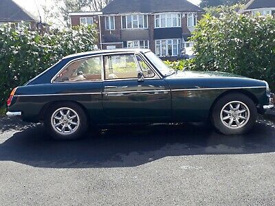 1968 MGB GT British Racing Green MGB GT Coupe - tax and MOT exempt