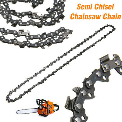 """18"""" Semi Chisel Chainsaw Chain  3/8 0.050"""" 62DL For Poulan Homelite Saw Parts"""