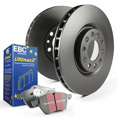 EBC Rear OE/OEM Replacement Brake Discs and Ultimax Pads Kit - PDKR829
