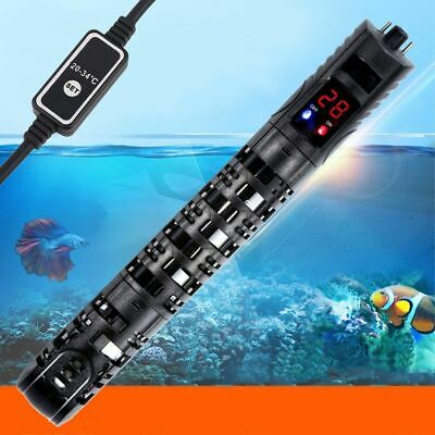 50/100/200/500W Aquarium Submersible Heater Fish Tank Auto Water Thermostat