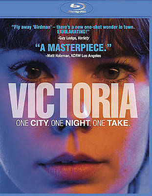 Victoria (Blu-ray Disc, 2016) BRAND NEW SEALED