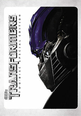 Transformers (DVD, 2007, 2-Disc Set, Special Edition) GOOD