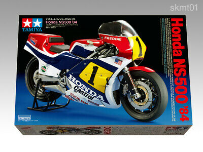 TAMIYA 14125 Honda NS500 1984 Winner Freddie Spencer model 1/12 scale kit F/S