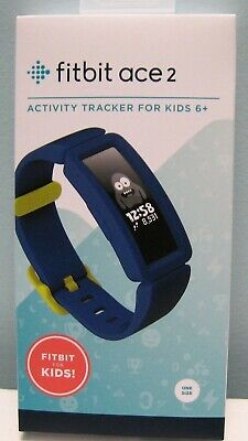 Fitibit Ace 2 Activity Tracker For Kids 6+ Night Sky # Fb414Bkbu, New In Box