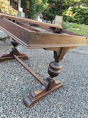 Vintage Refectory Extending Table Base Only