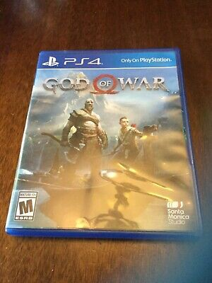 God Of War 4 (Sony Playstation 4 ps4).