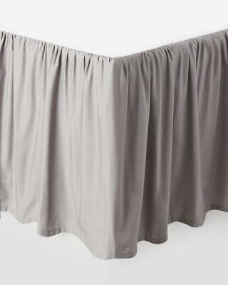 "Ruffle Bed Skirt Split Corner Solid Cotton 625 TC All Size Drop 21/"" to 25/"" inch"