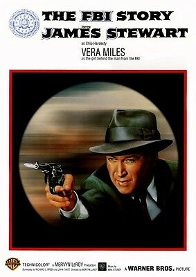 The FBI Story - James Stewart Vera Miles - Region 2 compatible DVD New