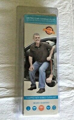 Support Exiting Car - Metro Car Handle Plus with Flashlight and Ergonomic Grip
