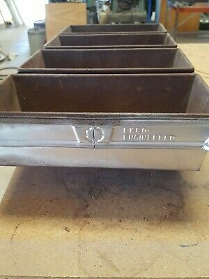 VTG 4-LOAF Industrial Loaf Pan  EKCO  D-Welded Bakeware