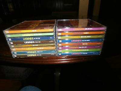 Legends Of Rock (Complete Collection 16 CD Box Set With 291 Tracks) Time Life