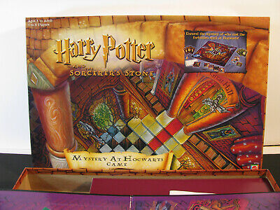 Mattel Harry Potter Board Game Mystery at Hogwarts Like Clue 2000 Complete