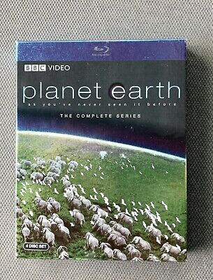 Planet Earth: Blu-ray. The Complete Series (4 Discs). Like New.