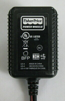 6 Volt Charger for Power Wheels 00803-1295 Battery Fisher Price 12J2 E82456