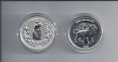 2019 John Wick Continental .999 1oz Pure Silver Round Coin with case