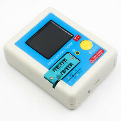 Screen Transistor Tester Battery Case Wire Components Capacitance Durable