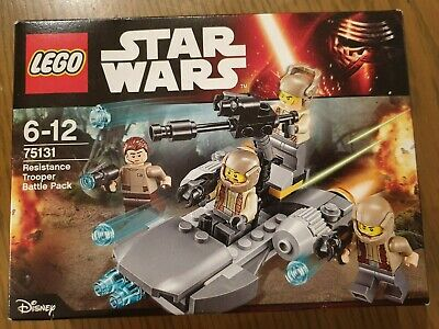 Brand new and sealed LEGO Star Wars Resistance Trooper Battle Pack (75131)