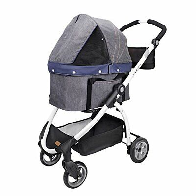 Ibiyaya Express Travel System Pet Stroller, Denim (JCB)