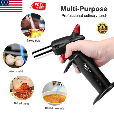 Cooking Torch Creme Brulee Chef Culinary Food Creme Kitchen Butane Flame Lighter