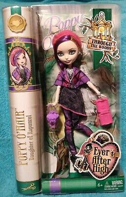 Ever After High Through the Woods Poppy O'Hair Doll NRFB