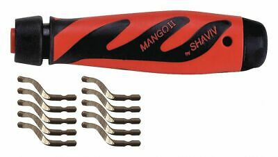 Shaviv Deburring Tool Set, E Series  High Speed Steel 155-00177  - 1 Each