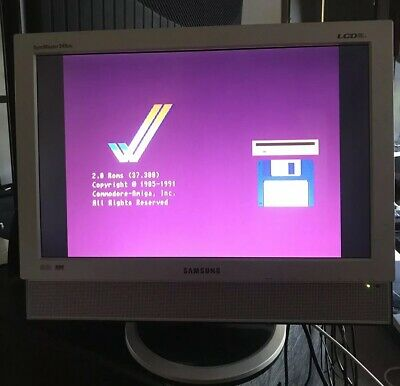 """Samsung 19"""" LCD TV/Monitor With SCART RGB Input And Amiga SCART Cable"""