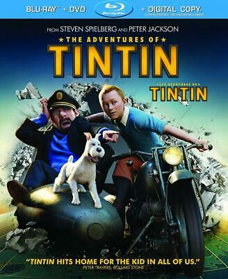 The Adventures of Tintin (Bilingual) [Blu-ray + DVD + Digital HD]...