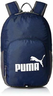 Puma  Phase 073589 Unisex Outdoor Authentic Backpack M new navy