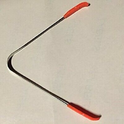 Stainless Steel Tongue Cleaner Scraper Tounge Dental Care Hygiene Oral Reusable