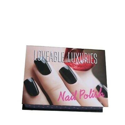 Loveable Luxuries Nail Polish Varnish Set Of 4X6Ml Fast Delivery