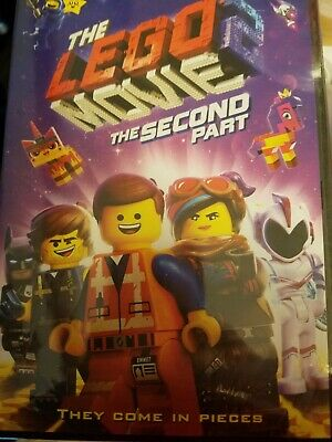 The Lego Movie 2 The Second Part (2019, DVD)