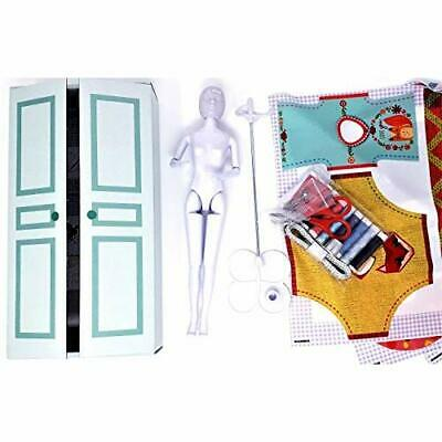 Vervaco My Couture Atelier Box Dress Your Doll Outfit Making Set, Multicol (NJG)