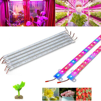AB8B Led Plant Grows Light Bar Strip Greenhouse Flower Hydroponic Systems 5730SM