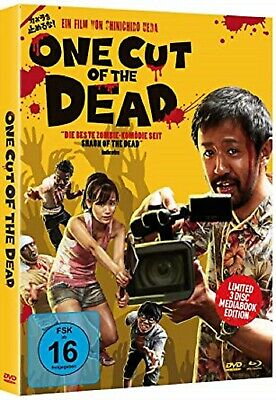 One Cut of the Dead Mediabook 3 Disc Limited Edition Blu-ray + 2 DVDs NEU OVP