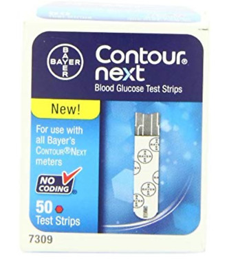 Bayer Contour Next Blood Glucose Test Strips (Quantity 50, 100 and 200)