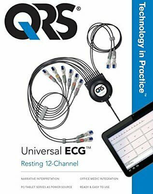 QRS Z-7000-0301 Universal ECG-New with 36-Month Warranty!