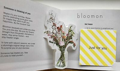 £7185 Bloomon bouquets Gift Voucher