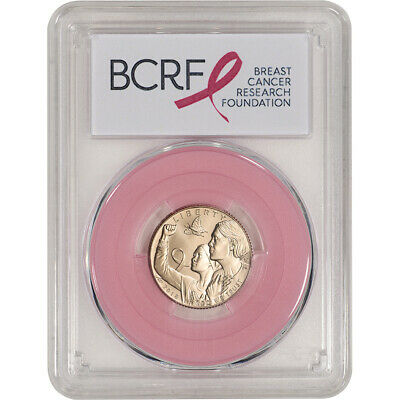 2018-W US Gold $5 Breast Cancer Commemorative BU - PCGS MS70 First Strike Pink