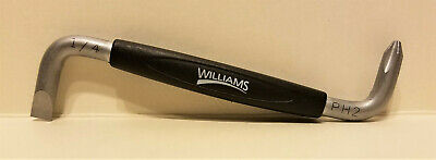 Williams 24102 Offset Slotted Screwdriver, 1/4-Inch/PH2