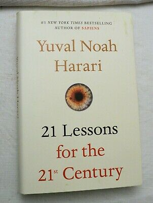 21 Lessons for the 21st Century by Yuval Noah Harari (2018, HBw/dj, 1st) SIGNED!
