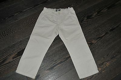 Boys H&M Beige Smart Chino Trousers Size 3-4 Years