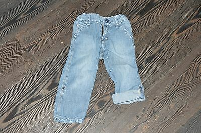Boys Gap Summer Roll Up Jeans Trousers Size 2 Years