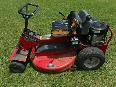 """SNAPPER RIDING LAWN Mower with Gorilla cart  42"""" Deck"""