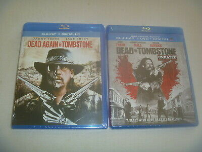 Dead In Tombstone Unrated & Again Blu-Ray Disc Movie Like New Unused Disc