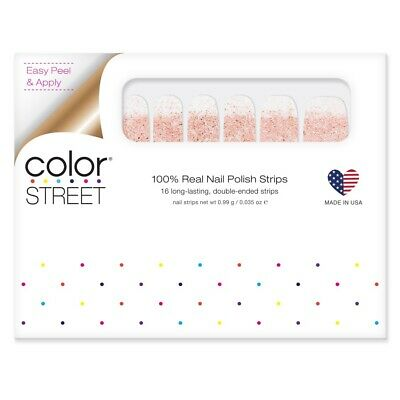 COLOR STREET Nail Strips Coming Up Rose Gold Glitter Dipped!